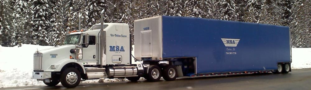 Msa Delivery Trailers Curtain Side Flatbeds Step Decks